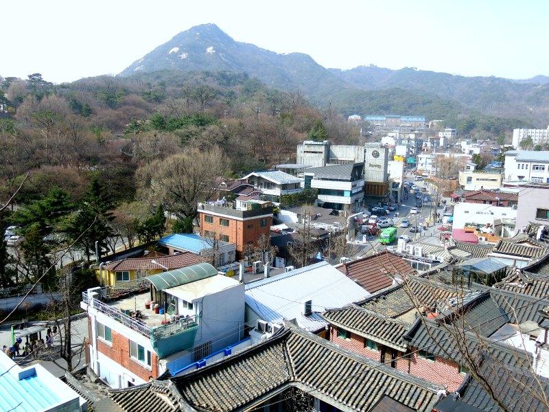 Samcheong-dong Aerial View