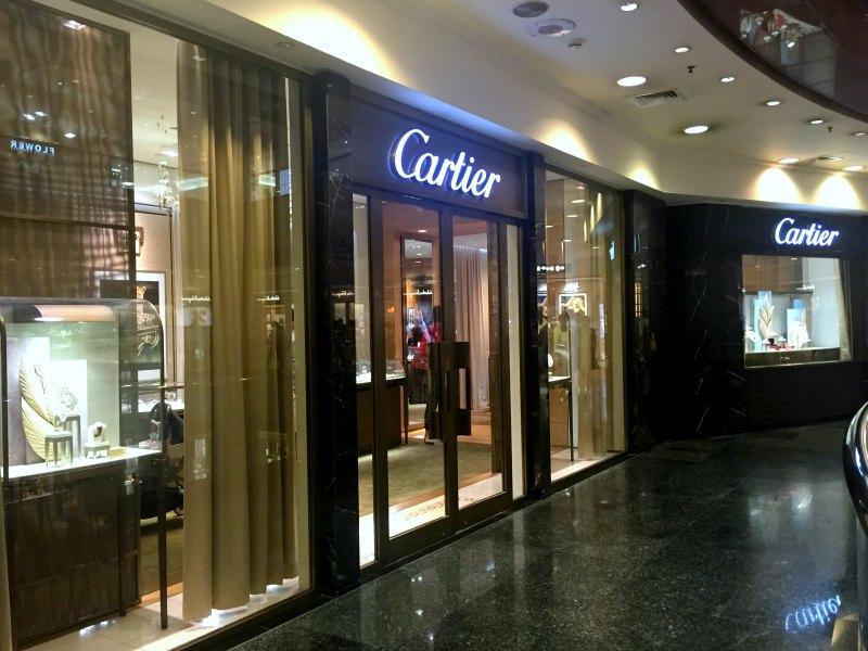 Cartier Takashimaya