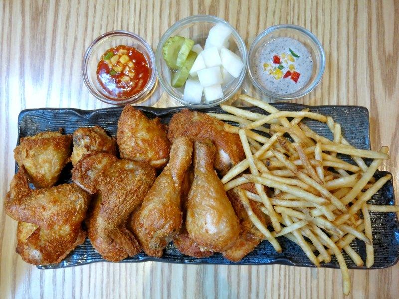 Noo Na Hol Dak Baked Chicken Set Myeongdong