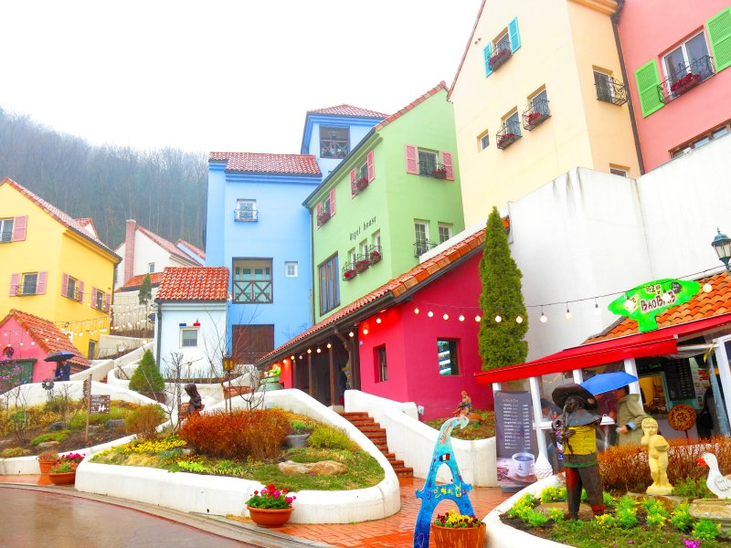 Bright Colorful Buildings