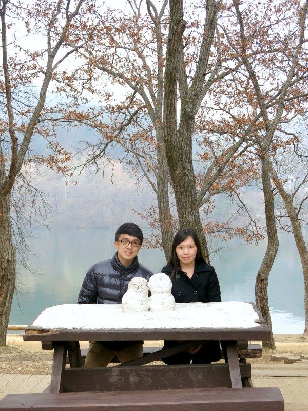 Real Couple Snowmen