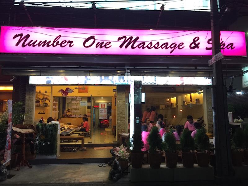 Number One Massage and Spa Bangkok