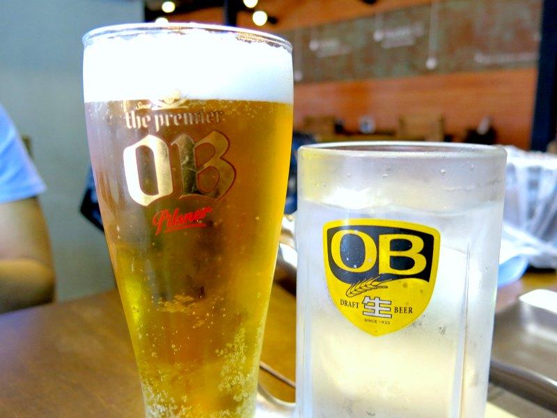 OB Draft Beer