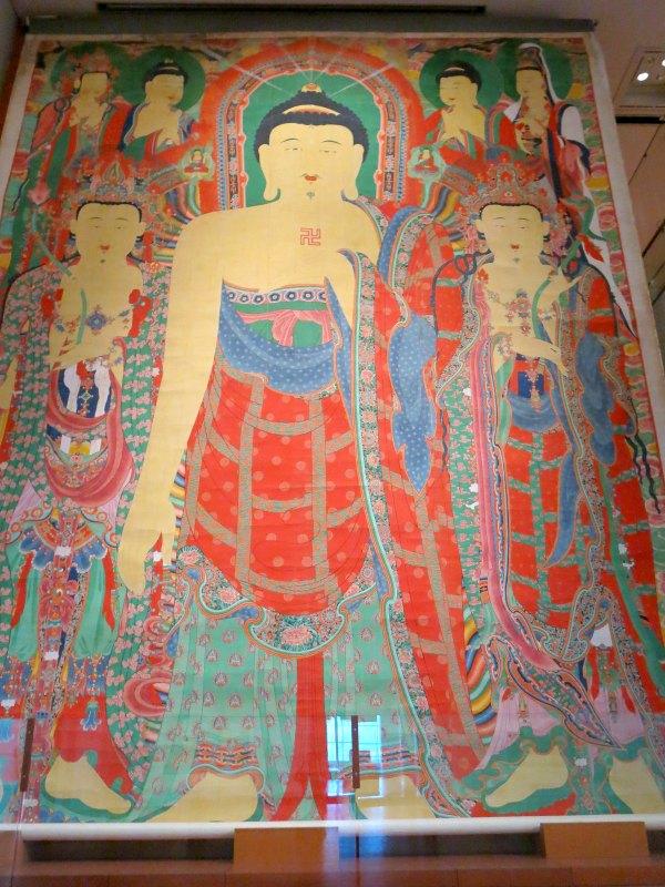 Buddhist Hanging Scroll at Gaeamsa Temple