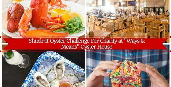 Ways & Means Oyster House Oyster Challenge