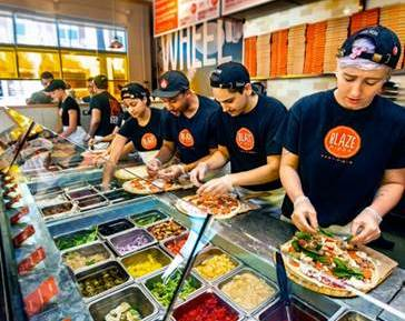 Free Blaze Pizza at the Outlets of San Clemente on Friday, May 6