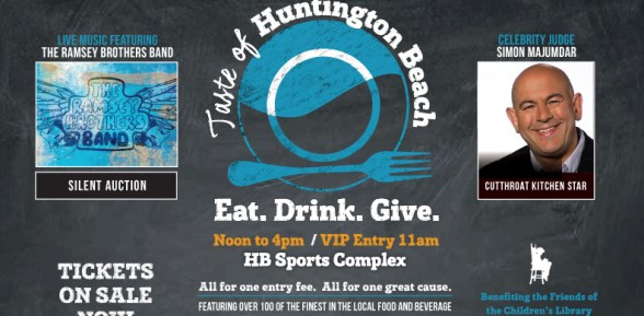 Taste Of Huntington Beach – Tickets Available