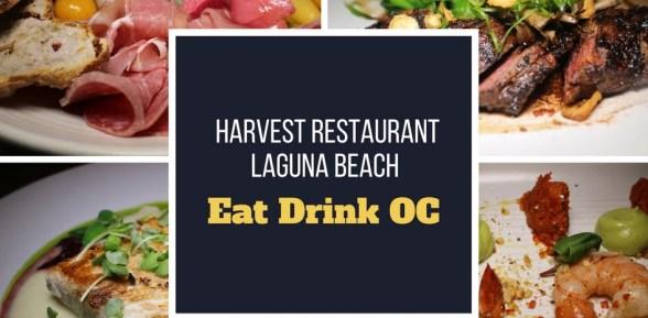Experience Harvest Restaurant Laguna Beach