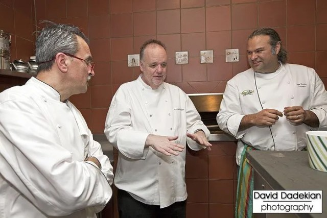 Chefs Walter Potenza, Tony Mantuano and Jose Duarte