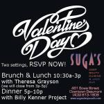 Suga's Valentine's Day Special Beaumont Tx 2016