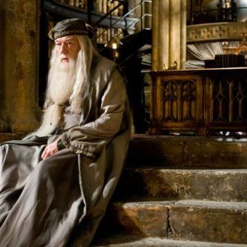 "MICHAEL GAMBON as Albus Dumbledore in Warner Bros. Pictures' fantasy ""Harry Potter and the Half-Blood Prince."" PHOTOGRAPHS TO BE USED SOLELY FOR ADVERTISING, PROMOTION, PUBLICITY OR REVIEWS OF THIS SPECIFIC MOTION PICTURE AND TO REMAIN THE PROPERTY OF THE STUDIO. NOT FOR SALE OR REDISTRIBUTION."