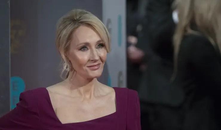 BAFTA 2017 - JK Rowling