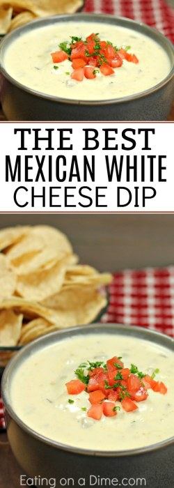 Upscale This Is Mexican Cheese Dip An Auntic Queso Dipthat Tastes Mexican Cheese Dip Auntic Queso Dip Recipe Tortilla Chips Dipping Tortilla Chips Trader Joe S