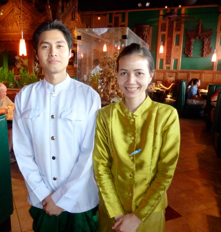 wait staff at Thai House