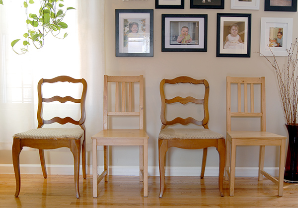 Painted Wooden Chairs diy painted wood chairs