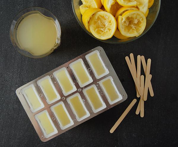 ginger lemonade popsicles