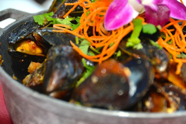 Orlando Food Tours Spice and Tea Orchid Thai Mussels