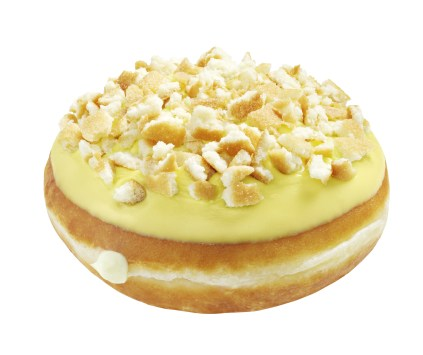 Krispy Kreme Banana Pudding Doughnut Krispy Kreme Introduces New Southern Summer Classics Doughtnuts