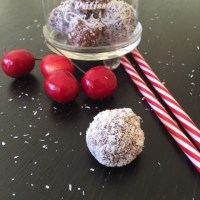 Chocolate Cherry Ripe Balls