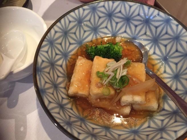 tofu at Shira Nui