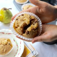 Pear and Chocolate-Chip Muffins Recipe