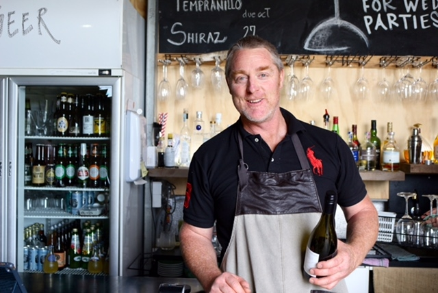 Shane Clancy from Basalt Cafe and Wine Bar