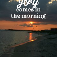 His Joy Comes in the Morning