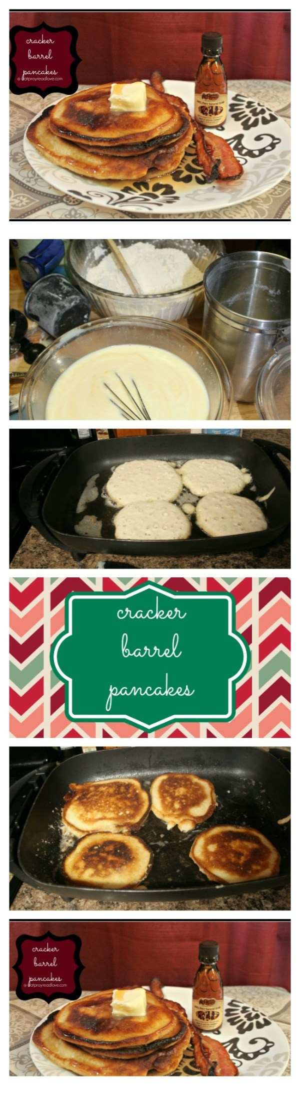 cracker barrel pancakes Collage