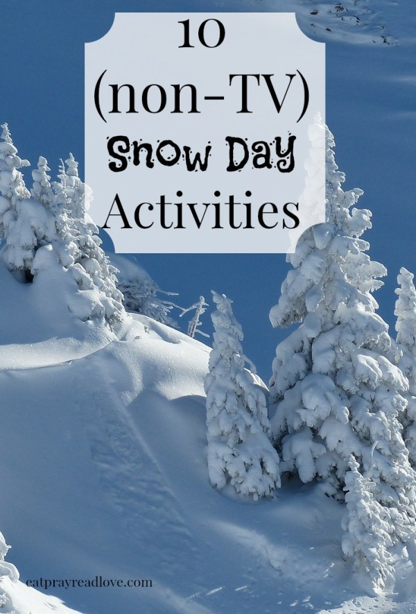 10 snow day activities