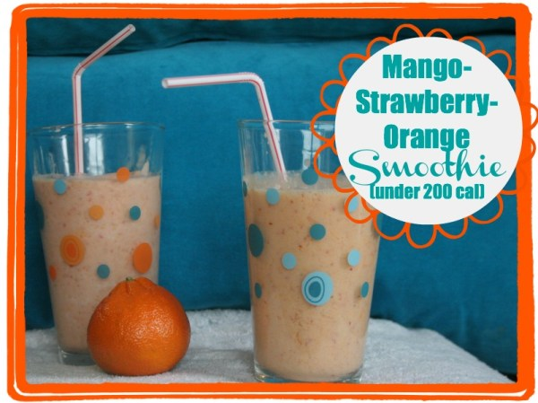mango orange strawberry smoothie recipe