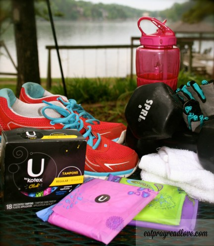 What's in my workout bag?
