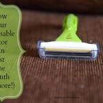 How to Make a Disposable Razor Last a Month (or more!)
