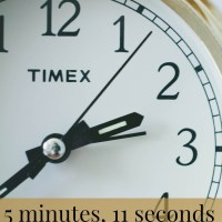 5 minutes, 11 seconds
