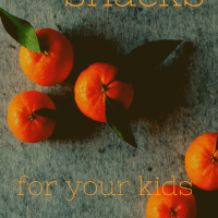 Small Changes: Healthy Snack Ideas for your Kids