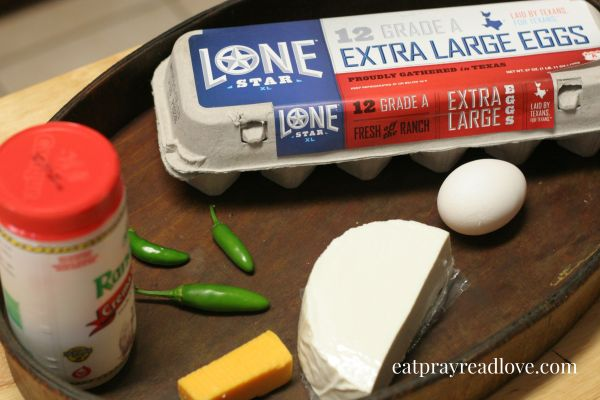 lone star egg ingredients