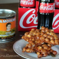Sweet + Spicy Peanut Brittle Recipe
