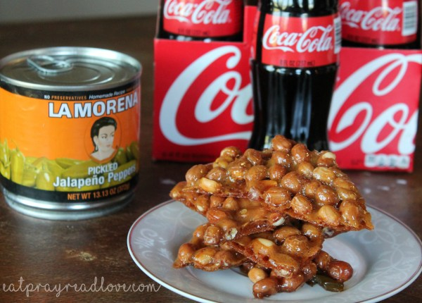 coca cola sweet and spicy peanut brittle