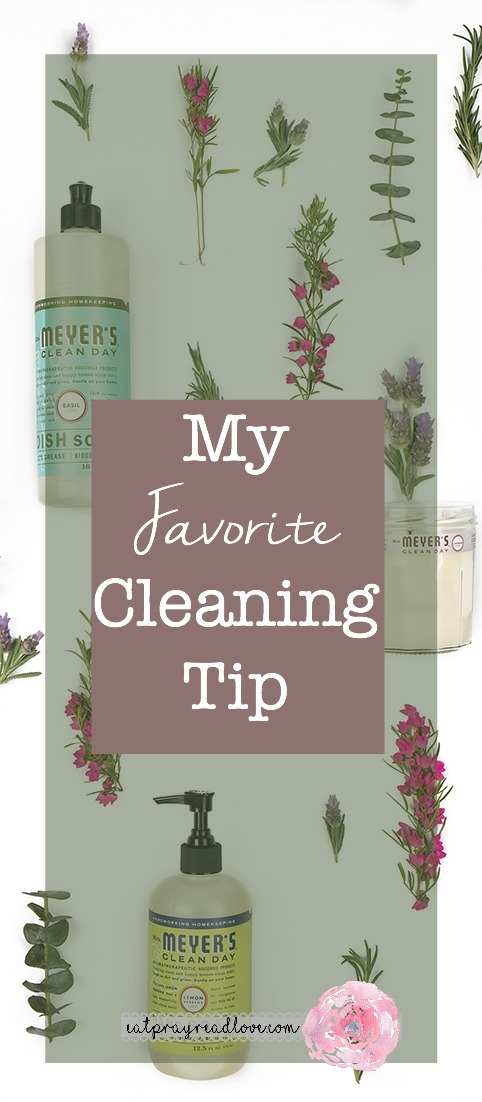 my favorite cleaning tip