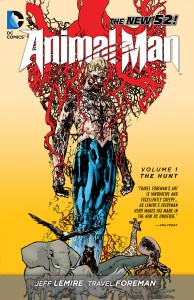 animal man the hunt_tpb cover art
