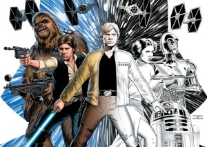 Color Your Own Star Wars Cov 2