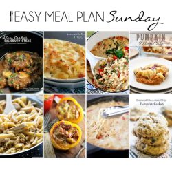 Indoor One Easy Recipe Meal Makes It Easy To Plan Your Meals Whole Week Easy Meal Plan Easy Peasy Meals Easy Sunday Dinner Menu Easy Sunday Dinner