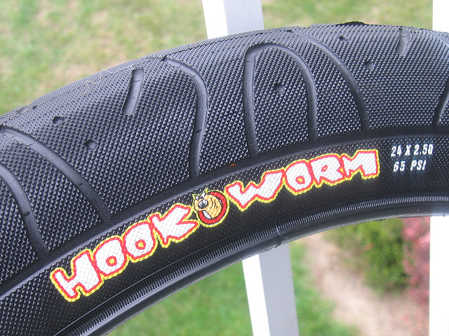 Hookworm tires rarely experience a flat tire
