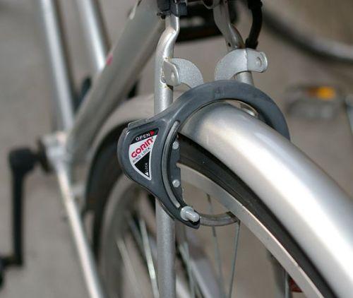 bike locks like this wheel lock help protect your ebike