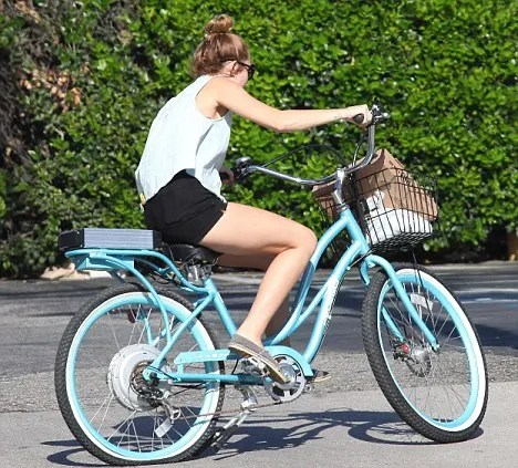Flat tire electric bicycle