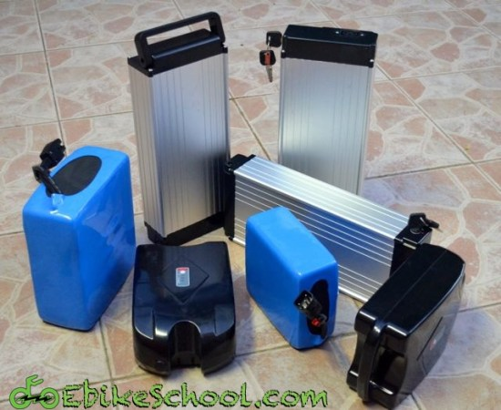 lithium electric bicycle batteries