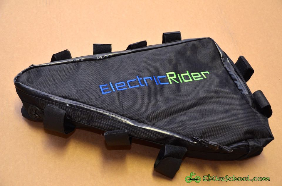 Review Triangle Frame Battery Bag By Electric Rider