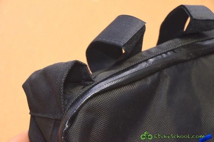straps and zipper