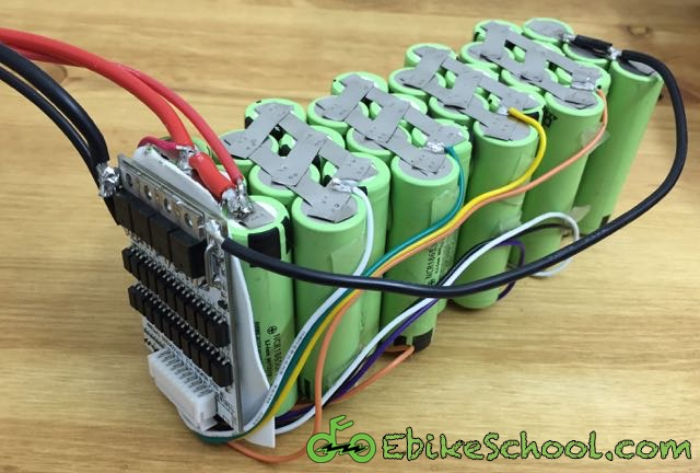 How To Build A DIY Electric Bicycle Lithium Battery From 18650 Cells ...