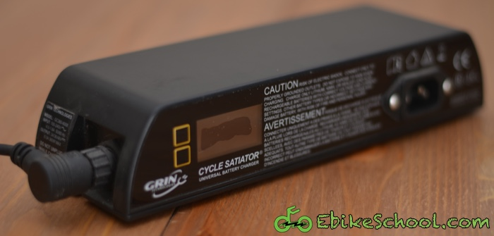 Grin Technologies Cycle Satiator Ebike Charger