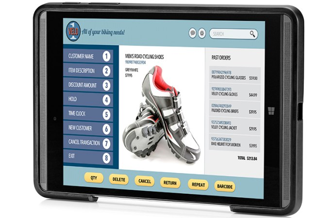 HP Pro Tablet Mobile Retail Solution